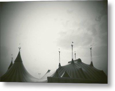 Circus Tent Metal Print by Copyright Lynn Longos