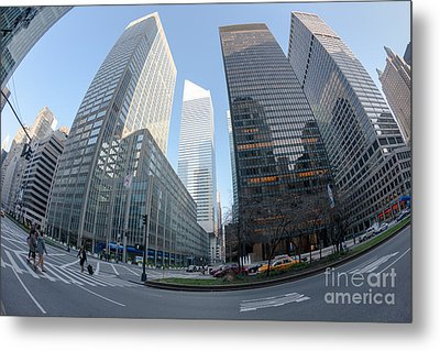 Citigroup Center From Park Avenue I Metal Print by Clarence Holmes