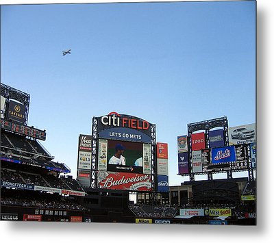 City Field At Queens Metal Print by Suhas Tavkar