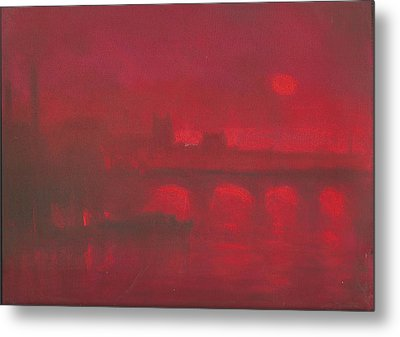 City Mist 1 Metal Print by Paul Mitchell