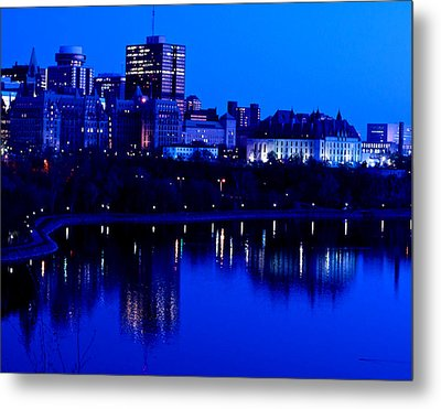 Cityscape Metal Print by Andre Faubert