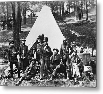 Civil War: Scouts, 1862 Metal Print by Granger