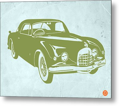 Classic Car Metal Print by Naxart Studio