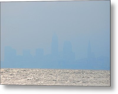 Cleveland Ohio Metal Print by Peter  McIntosh