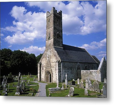 Clonfert Cathedral, Clonfert, Co Metal Print by The Irish Image Collection