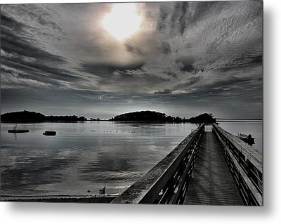 Cloud Unexpected Metal Print by Lori Cooney