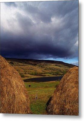 Co Cavan, Lake In West Cavan Mnts Metal Print by The Irish Image Collection