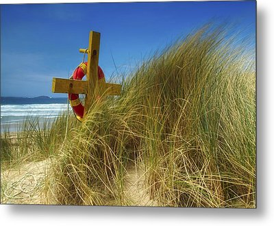 Co Down, Ireland Lifebelt Metal Print by The Irish Image Collection