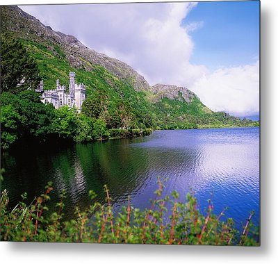 Co Galway, Ireland, Kylemore Abbey Metal Print by The Irish Image Collection