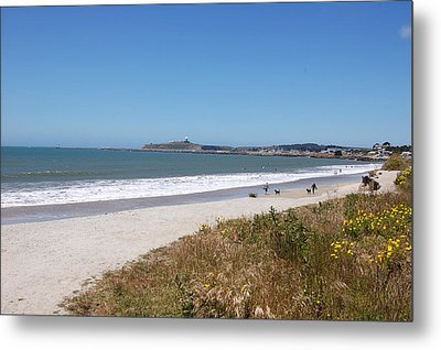 Coastside California Metal Print by Carolyn Donnell
