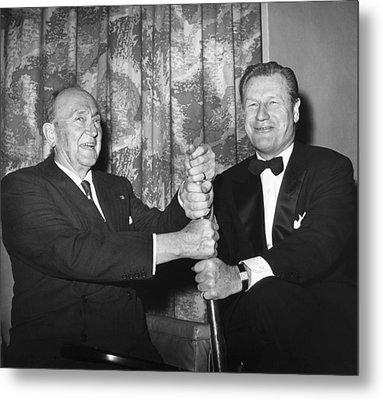 Cobb & Rockefeller, 1960 Metal Print by Granger