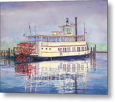 Cocoa Belle Water Metal Print by AnnaJo Vahle