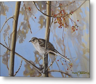 Cold Day Metal Print by Howard Stroman