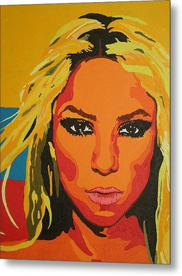 Colombiana Metal Print by Adrienne S