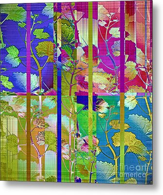 Color Blind Metal Print by Gwyn Newcombe