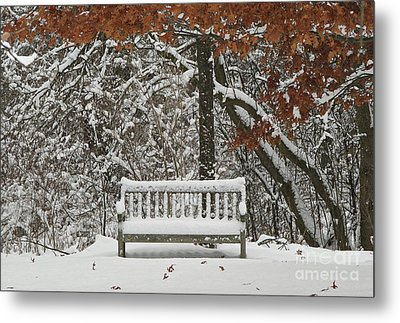 Come Sit Awhile Metal Print by Inspired Nature Photography Fine Art Photography