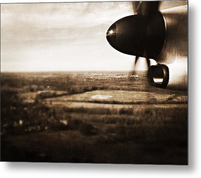 Coming And Going Metal Print by Heather M Nelson