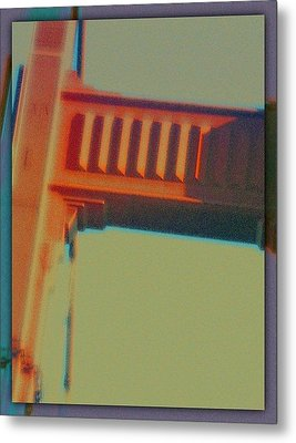 Metal Print featuring the digital art Coming In by Richard Laeton