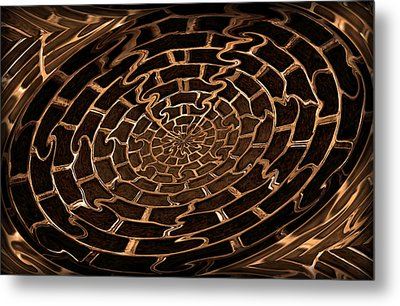 Complicated Journey Metal Print by Kristin Elmquist