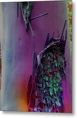 Metal Print featuring the digital art Connect by Richard Laeton