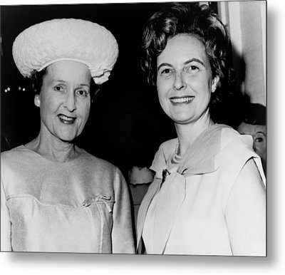 Conservative Politician, Phyllis Metal Print by Everett