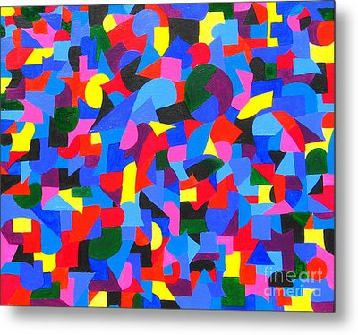 Controlled Chaos Metal Print by Denise Hopkins