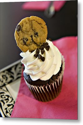 Cookie Metal Print by Malania Hammer