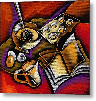 Cooking Metal Print by Leon Zernitsky