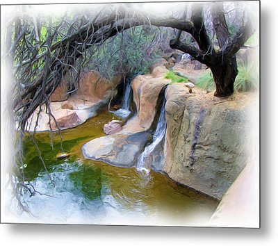 Cool Waters Metal Print by FeVa  Fotos
