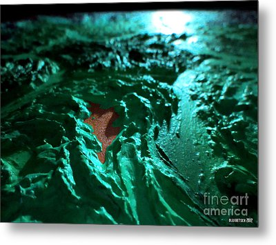Copper Lake Metal Print by Oliver Betsch