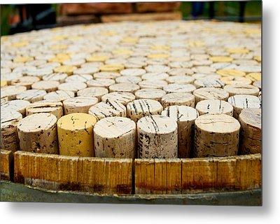 Corks Metal Print by Calvin Wray