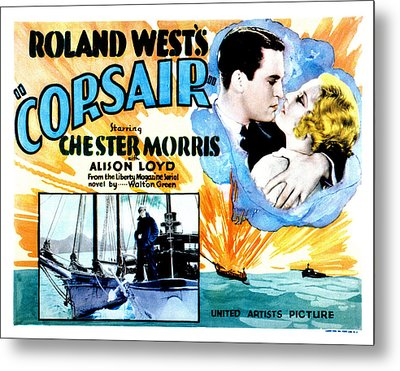 Corsair, Chester Morris, Thelma Todd Metal Print by Everett