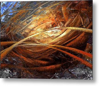 Cosmic Strings Metal Print by Arthur Braginsky
