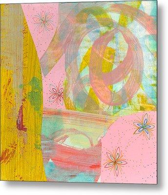 Cotton Candy Metal Print by Alexandra Sheldon