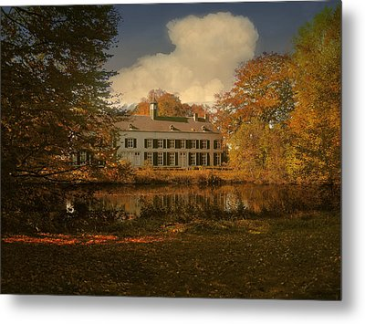 Country Estate Genbroek Metal Print by Nop Briex
