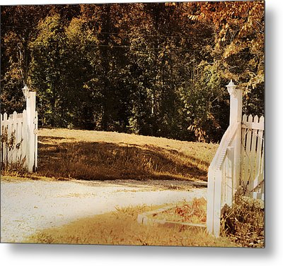 Country Welcome Landscape Metal Print by Jai Johnson