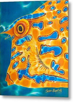 Cow Fish Metal Print by Daniel Jean-Baptiste