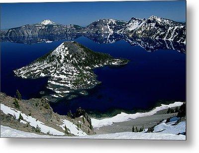 Crater Lake National Park, Oregon Metal Print by Raymond Gehman