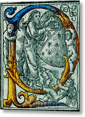 Creation Giunta Pontificale 1520 Metal Print by Science Source