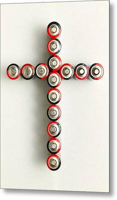 Cross Batteries 1 A Metal Print by John Brueske