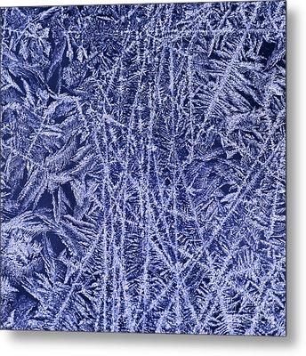 Crystal 2 Metal Print by Sabine Jacobs
