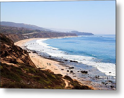 Crystal Cove Orange County California Metal Print by Paul Velgos