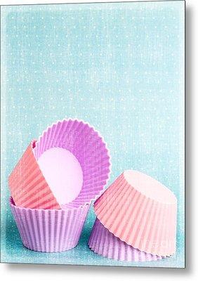 Cupcake Metal Print by Edward Fielding
