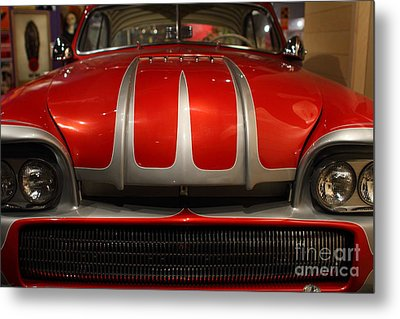 Custom Ford Automobile . 7d13114 Metal Print by Wingsdomain Art and Photography