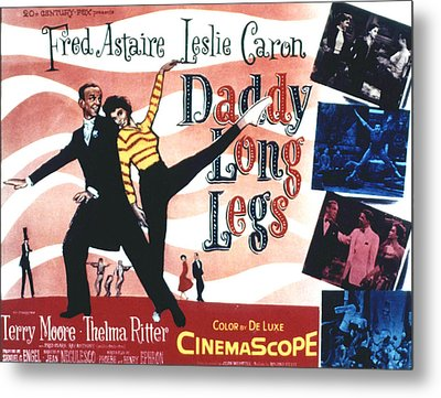 Daddy Long Legs, Fred Astaire, Leslie Metal Print by Everett