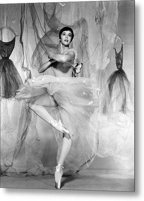 Daddy Long Legs, Leslie Caron, 1955 Metal Print by Everett