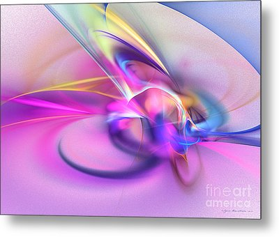 Daddys Girl - Abstract Art Metal Print by Abstract art prints by Sipo