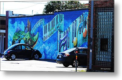 Dallas Street Art 4 Metal Print by DiDi Higginbotham