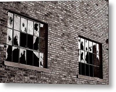 Damaged Metal Print by Scott Hovind