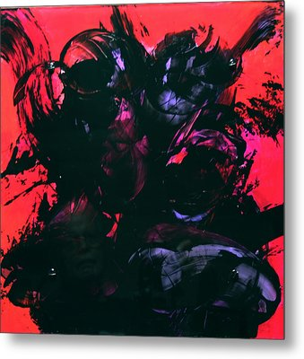 Damn Ms. Scarlet 1 Metal Print by Mordecai Colodner